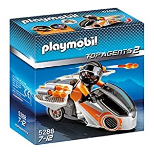 Playmobil Spy Team Skybike - 5288 by N/A