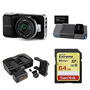 Blackmagic Design Pocket Cinema Camera Package D