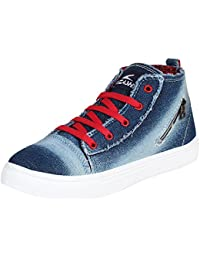 Bersache Women Blue-743 Casual Sneakers Shoes