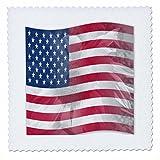 3drose QS _ 41185_ 9Sunflower USA Flagge Amerika