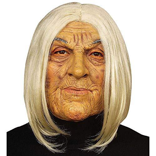 Widmann 6846F Maske alte Frau, Mehrfarbig (Kostüme Ideen Mit Masken)