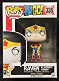 Funko 10080 – Pop Vinyl Teen Titans Go Raven as Wonder Woman Figure 335 Exclusive, 9 cm