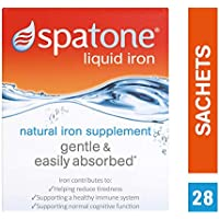 Spatone Natural Liquid Iron Supplement - Pack of 28 Sachets