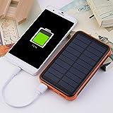 Dailyinshop Dimensioni Portatili 50000mAh telefoni cellulari Impermeabili di Grande capacità Batteria Esterna Caricabatterie di energia Solare Caricabatterie