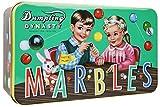 Cotton Candy - Marble Set - Murmel Set in schöner Nostalgie Blechdose