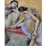 YDPTYANG Adulti Puzzle Legno 1000 Pezzi Danzatore della Pittura Ad Olio della Ballerina Che Riposa Bambini Creativo Gioco Arte Giocattolo Puzzles