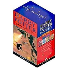 Harry Potter, Engl. ed., 4 Vols.