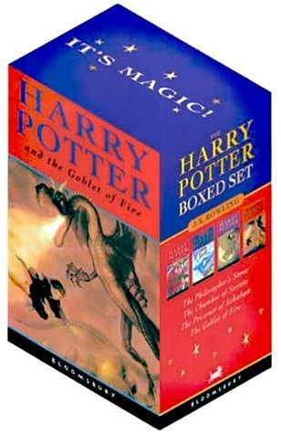 Harry Potter PB Boxed Set x 4: Harry Potter and the