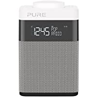 Pure Pop Mini Portable Digital DAB/FM Radio with Alarm and Kitchen Timer