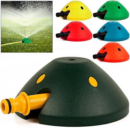 3x Sprinkler Rasensprenger Schwab Regner Rasen Kreisregner Wasserspiel Gartenregner Bewässerung 80m² Beregnungsfläche