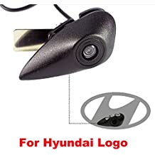 Dynavsal Coche Vista Frontal Logo Embeded de la Cámara de Hyundai IX35 Accent Azera Elantra Entourage
