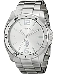 U.S. Polo Assn. Classic Men's USC80223 Analog Display Analog Quartz Silver Watch