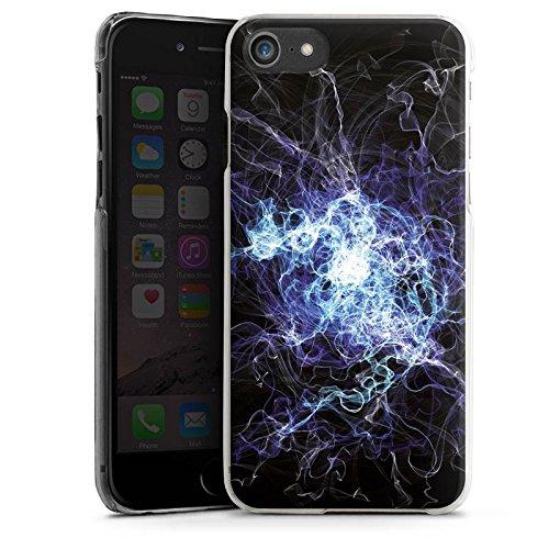 Apple iPhone X Silikon Hülle Case Schutzhülle Elektrizität Blitz Strom Hard Case transparent