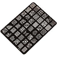 Ularma Moda Imagen de placa de impresión estampación sellos placa manicura Nail Art decoración de uñas