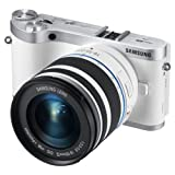 Samsung NX300 20.3MP CMOS Smart WiFi Compact Interchangeable Lens Digital Camera with 18-55mm Lens and 3.3-inch AMOLED Touchscreen (Brown)