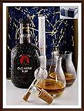 Geschenk Old Monk 7 Jahre Rum + 1 Flaschenportionierer + 2 Original Glencairn Gläser kostenlose Lieferung