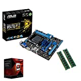 Aufruest PC Bundle Fuer Office/Multimedia/Gaming mit 3 Jahren Garantie! - AMD Octa-Core FX 8300 8X 3,3GHz - 16GB DDR3 RAM - ASUS AM3+ Board - USB 3.0 - VGA - DVI