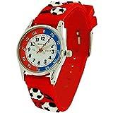 Reflex Jungen Analog Quarz Uhr mit Gummi Armband REFK0008