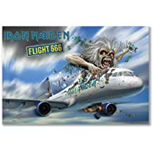 Póster: IRON MAIDEN FLIGHT 666película documental álbum (A1Maxi–61x 91,5cm/24x 36in, semi-gloss papel satinado)