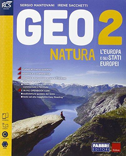 Geonatura. Atlante osservo e imparo-Extrakit-Openbook. Per la Scuola media. Con e-book. Con espansione online: 2
