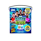 #7: Topps Cricket Attax IPL CA 2017 50's Carry box, Multi Color