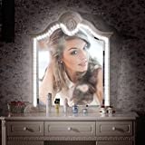 LED Spiegel Licht Streifen Kit, Kohree 13ft/4M 6000K Tageslicht Dimmbare Spiegelleuchte Kosmetikspiegel Beleuchtung Kit