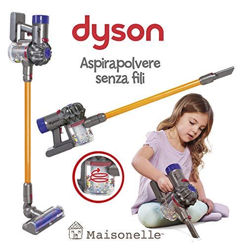 ODS- V8 MAISONELLE Aspirapolvere Dyson per Bambini, Colore Grigio, Arancione e Viola, 20800