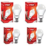 Eveready Base B22 12W Pack Of 2 With 5W Pack Of 2 LED Bulb Combo