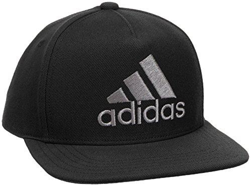 adidas H90 Logo Cap Hat, Black/Grey Four f17, OSFM