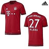 Trikot Adidas FC Bayern 2015-2016 Home - Alaba [Kids Gr.140]