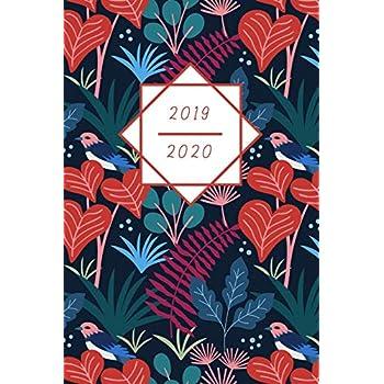 Mon Calendrier, Agenda, Organisateur 2019-2020: La magie de la botanique et des oiseaux - Planning hebdomadaire | Planificateur de rendez-vous | ... pour plus de routine dans la vie quotidienn