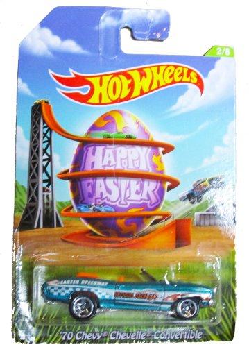 Chevy Chevelle 70 Hotwheels (Hot Wheels Happy Easter 2014 - 2/8 - '70 Chevy Chevelle Convertible by Hot Wheels)