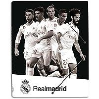 Grupo Erik Editores CSG0040 - Carpeta con solapas 2017/2018, diseño jugadores Real Madrid, 34 x 25.5 cm