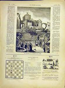 Copie 1882 d'Église de Dieu de Fête de Cortège de Fête-Dieu du Midi