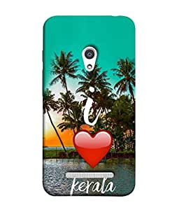PrintVisa Designer Back Case Cover for Asus Zenfone 5 A501CG (Tall Palm Trees river side of Kerala)