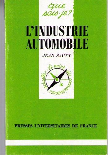 L'Industrie automobile mondiale
