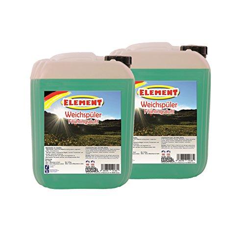 Element Weichspüler Konzentrat 20 Liter Frühlingsduft Waschmittel Flüssigwaschmittel