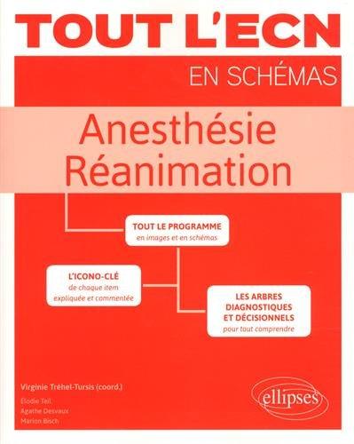 ANESTHÉSIE - RÉANIMATION par Virginie Tréhel-Tursis (coord.), Elodie Teil, Agathe Desvaux, Marion Bisch