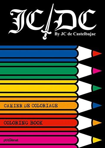 Cahier de coloriage JCDC by JC de Castelbajac - Petit format