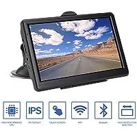 GPS Navigation para Coche, 8GB Pantalla Táctil de 7 Pulgadas con Bluetooth y actualizaciones de