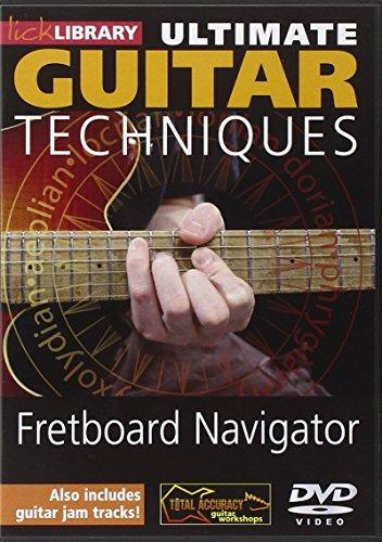 Ultimate Guitar Techniques: Fretboard Navigator by Jamie Humphries Navigator Dvd