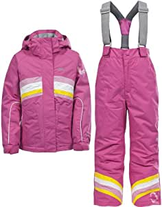 Trespass Girl's Teardrop Ski Set - Bubble Gum, 5-6 Years