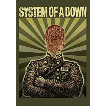 System of a Down - Soldier - Posterflagge 100% Polyester - 75x110 cm
