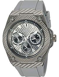 36bca790888f Guess U1048G1 - Reloj de Cuarzo para Hombre (Acero Inoxidable y Silicona)