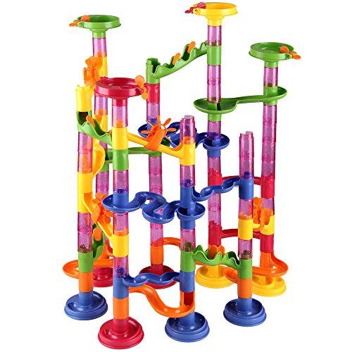 Circuito de Bolas 111 piezas con Canicas Juego de Aprendizaje Motricidad