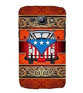 American Van Indian Art 3D Hard Polycarbonate Designer Back Case Cover for Samsung Galaxy J2 (2015) :: Samsung Galaxy J2 J200F