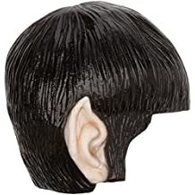Rubie's Official Star Trek Classic Spock Vinyl Wig with Ears Fancy Dress, Fits All - One Size
