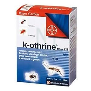 ANTIZANZARE K-OTHRINE BAYER 50 ML SPRAY DISINFESTAZIONE GIARDINO CASA ESTERNO