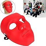 mark8shop Scary Face Halloween Masquerade B-Boy Mime Maske Ball Party Kostüm Theater