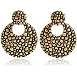 Manvik Gold Plated Fancy Earring For Girls And Women